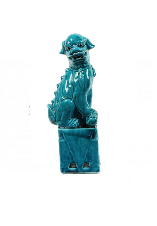 blue lion foo dog the soul collection asian mix