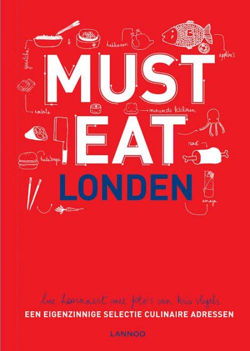 must eat london boek uitgever lannoo