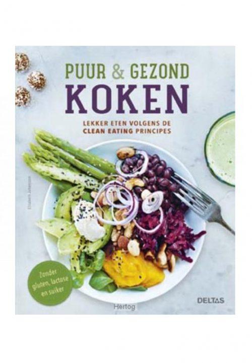 Puur & gezond koken kookboek vegan lifestyle