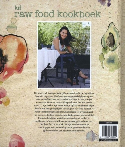 Rawfood koekboek lifestyle cover