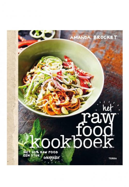 Raw food kookboek vegan healthy lifestyle