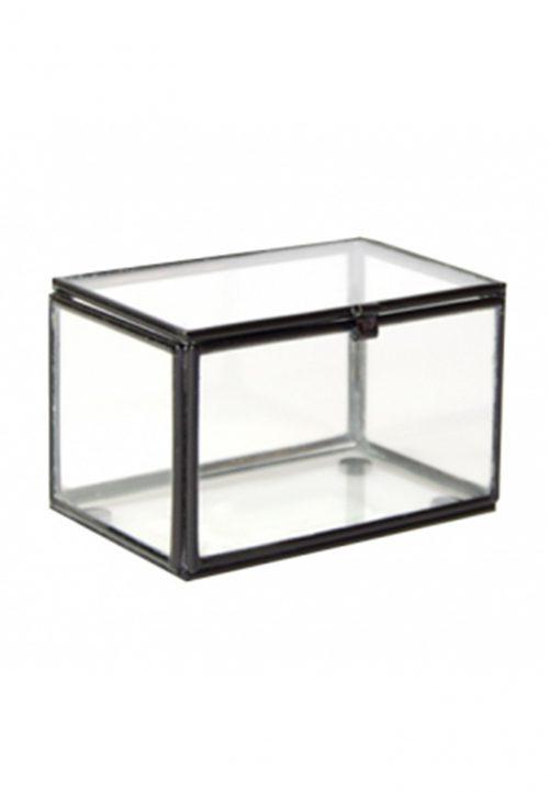small box Home Delight zwart
