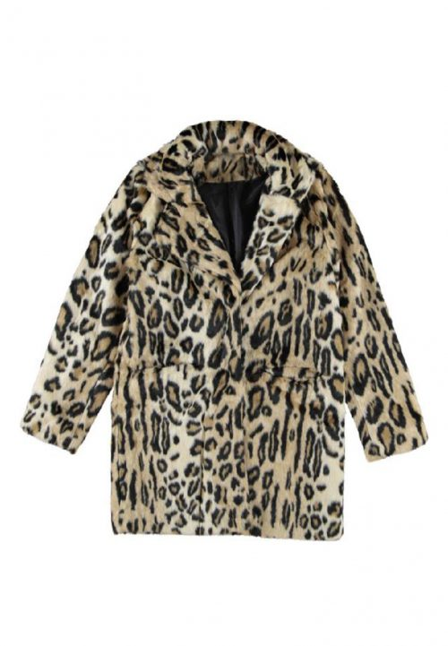 The Soul collection Leopard Faux fur coat