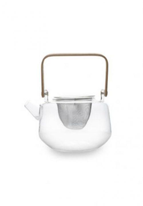 glazen theepot Pepper&salt rvs filter