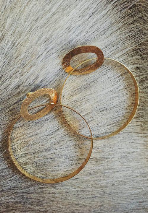BerNice Amsterdam Accessoires Oorbellen Gouden ringen