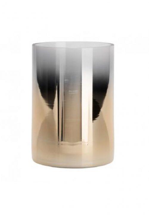 Windlicht Wittkemper dipdye golden cylinder