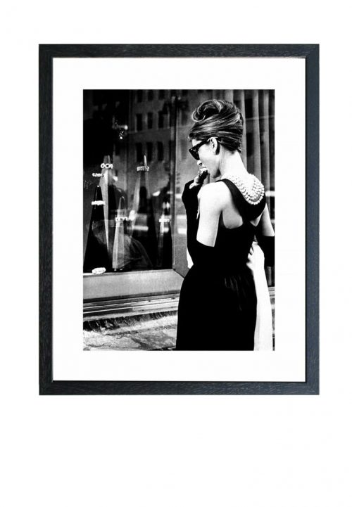 Audrey hepburn print vintage